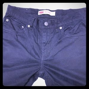 Levi's 511 Slim Fit Sueded Jeans